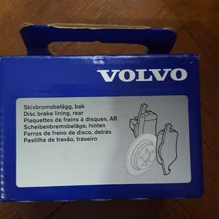 Volvo S60 rear disc brake pads