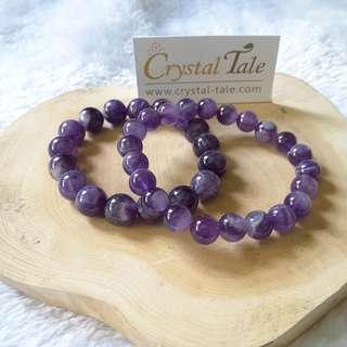Chervon Amethyst Bracelet