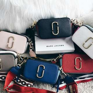 Marc Jacobs Snapshot Camera Bag Complete Set