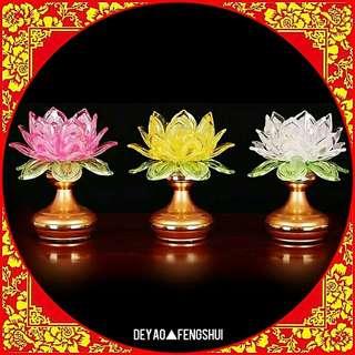 ▲BN Auspicious Religious Lotus Flower Lamp▲