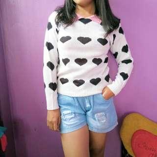 Sweater Rajut (putih)