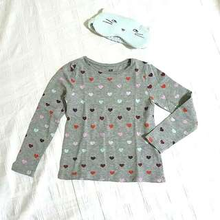 H&M Basic Tee for 4-6yo girl