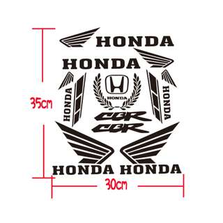 Honda motorbike helmet box bike bicycle ebike escooter decal sticker CBR150R CBR