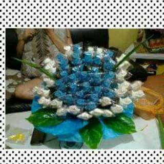 50 pcs Rose bouquet