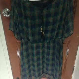 Plus size stretchable dress (5XL)