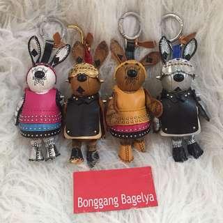 Authentic MCM Bunny Bag Charm