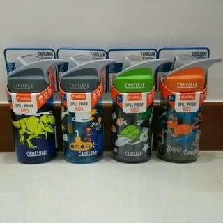 Brand New CAMELBAK Eddy Kids 0.4L Spill Proof Water Bottle