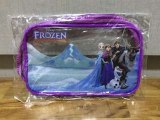 Brand New Clear Frozen Toiletries / Stationeries Bag