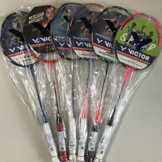 [CNY DEALS] Brand New Victor Rackets Galore