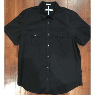 Calvin Klein Black Shirts (Harga retail: 800k)