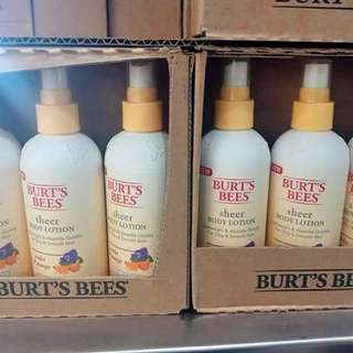 Burt's Bees Sheer Body Lotion