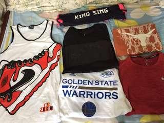 Nike Jordan Adidas tshirt