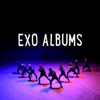 [PREORDER] EXO ALBUMS