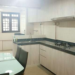 Tiong Bahru For Rent New Kitchen Cabinets, New Paint