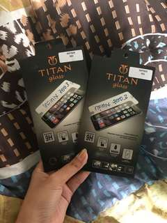 Tempered glass / screen protector for infinix zero 3