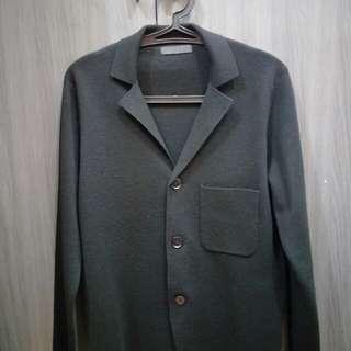 Uniqlo long outerwear (wool)