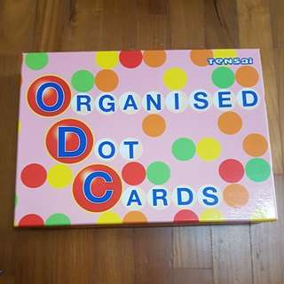 Organised dot cards by shichida