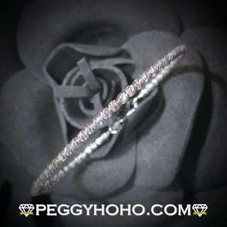 【Peggyhoho】全新14K白金手厄|經典系列 |簡約獨特
