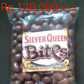 Silverqueen Bites 500gr