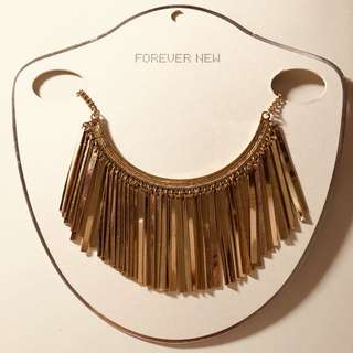 Forever New Statement Necklace bought from Perth