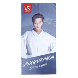 G-Dragon權志龍×VS毛巾