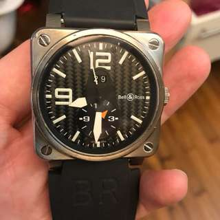 Bell & Ross 03-51 carbon GMT
