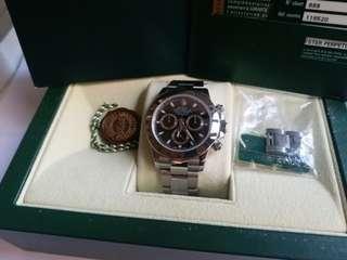 (Sold)勞力士 Rolex 116520 Daytona 黑面亂碼888