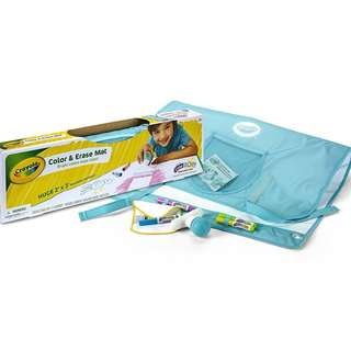 Crayola Color & Erase Mat, Travel Coloring Kit, Gifts, Ages 3, 4, 5, 6