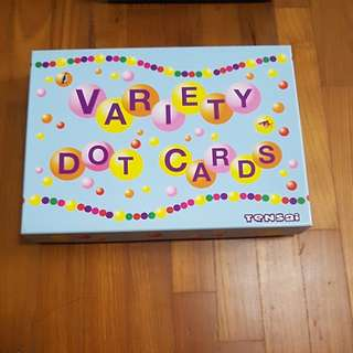 Variety dot cards from Shichida