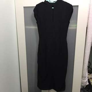 ZALORA Black Maxi Dress