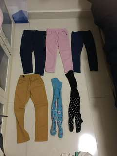 Winter warm clothes 3-5 y