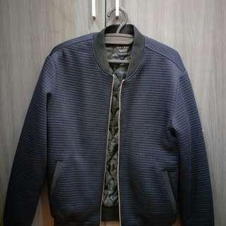 Zara Quilted Jacket Wool