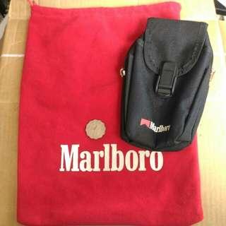 199x年 萬寶路 MARLBORO 掛腰袋/包 禮物袋 各一個