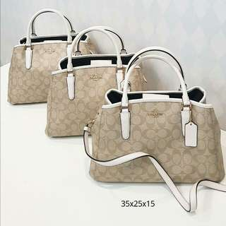 Coach Margot Signature Chalk