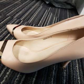 Nude Pumps (Something Borrowed) Size 39