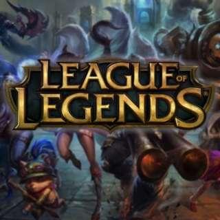 SG/MY League of legends elo boost