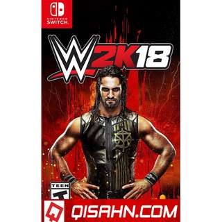 PRE OWNED SWITCH WWE2K18