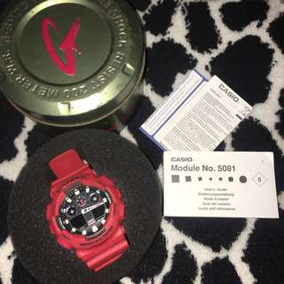 Casio G-Shock Red *2K