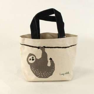 日本代購 樹懶包包/手提袋/肩背包/便當袋/手作提袋 預購