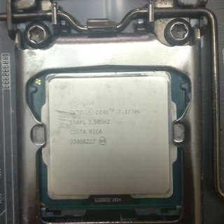 I7 3770K (Blemish on IHS)