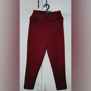High-waisted Office pants