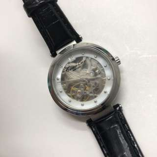 Kenneth cole Automatic skeleton watch (slightly used)