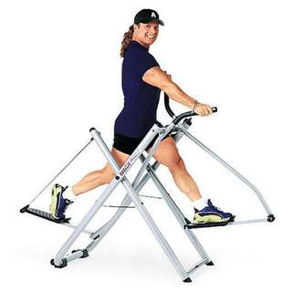 Treadmill Air Walker Alat Fitnes Cross Trainer Latihan Otot Tangan Kaki