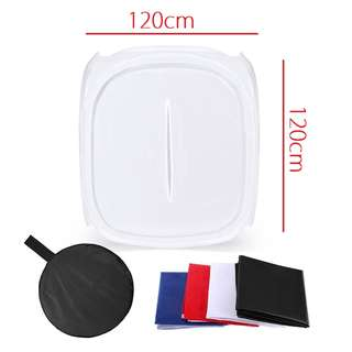 Pxel LT120 120x120cm Soft Box Light Tent Softbox Product Photography