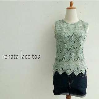 RENATA LACE TOP (IMPORT BKK ) BJ.8