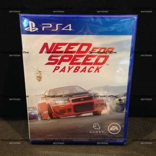PS4 Need For Speed Payback (R3)