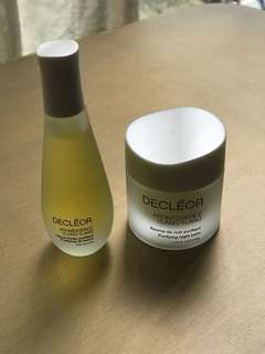 Decléor serum & night balm