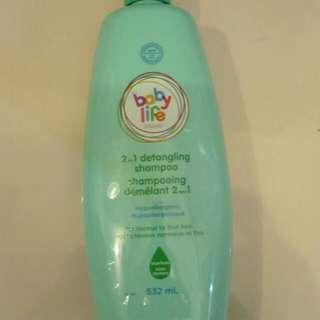 Baby- toddler shampoo