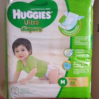Huggies Ultra Tape Diapers M60