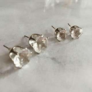 Diamond Studs ($2 for 1 pair)